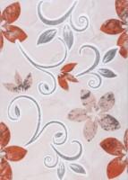 Декор Цветы - 1 красный 250х350 мм