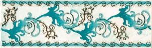 Бордюр Магия зеленая 80х250