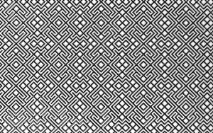 Камелия чёрный декор 04 250х400 мм