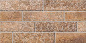 Декор Брик 1 коричневый 300*600 мм