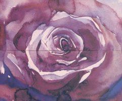 Arabeski purple panno 02 600*500 мм