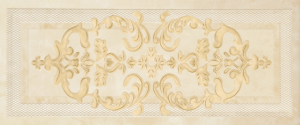 Palladio beige decor 01 250*600 мм