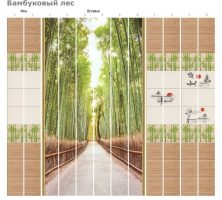 Бамбуковый лес декор